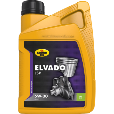 Elvado LSP 5W-30 - Kroon-Oil - Additivi Blue