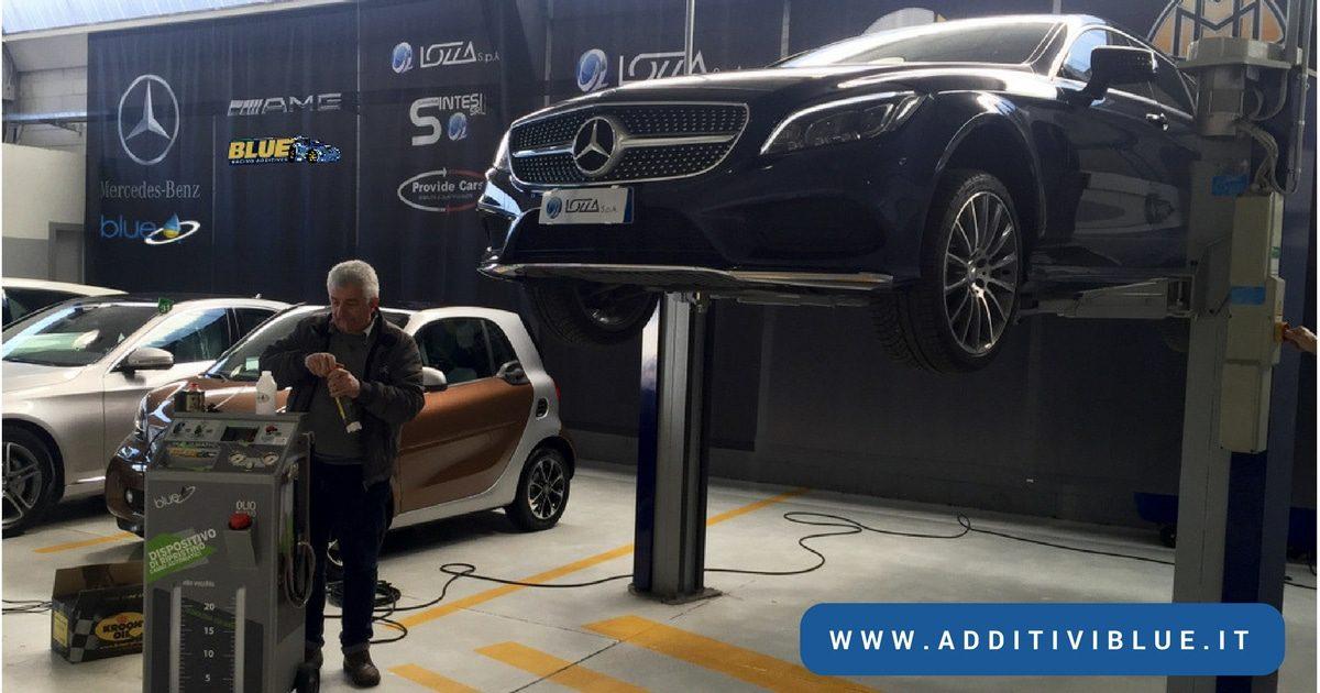 cambio automatico 9G-Tronic Mercedes Additivi Blue
