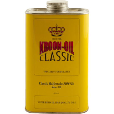CLASSIC MULTIGRADE 20W-50 Kroon Oil Additivi Blue