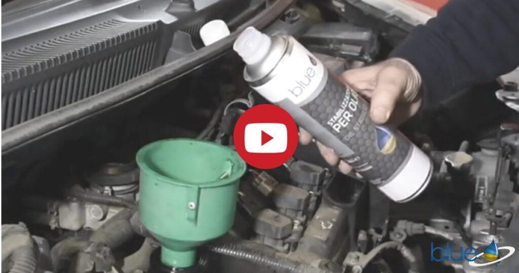 Consumo d'olio eccessivo - Anteprima Additivi Blue