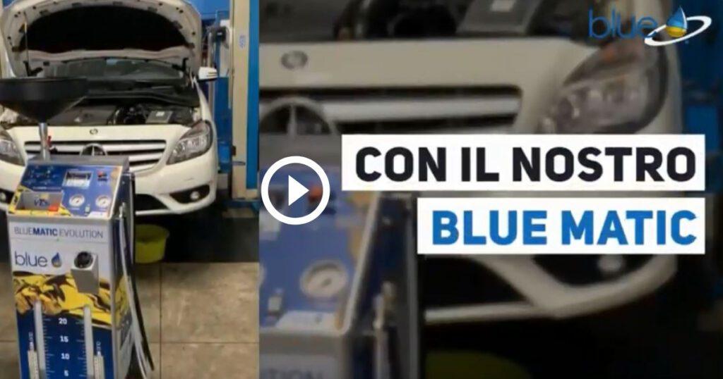 Manutenzione Cambio DTC Mercedes Classe A e B - Additivi BLue