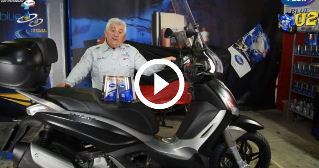 Manutenzione Piaggio Beverly 350 - Additivi Blue