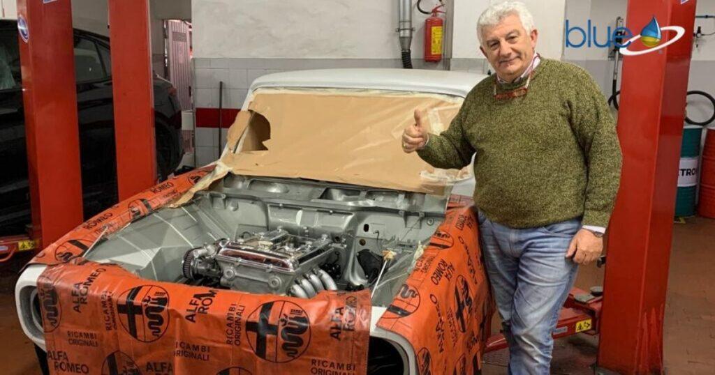 Restauro Alfa 1750 Berlina ultimi aggiornamenti
