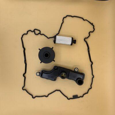 Kit Doppio Filtro Cartuccia - Filtro Plastica - Guarnizione 0CK Audi-VW 7/1
